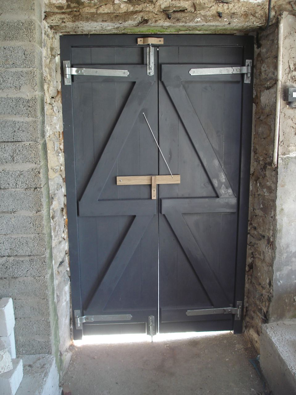 Double Shed Doors A Woodwork